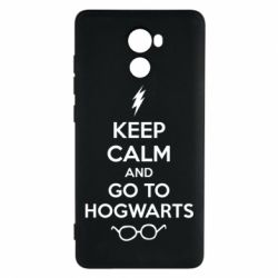 Чехол для Xiaomi Redmi 4 KEEP CALM and GO TO HOGWARTS - FatLine