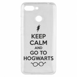 Чехол для Xiaomi Redmi 6 KEEP CALM and GO TO HOGWARTS - FatLine