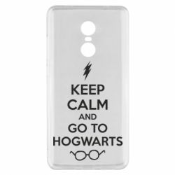 Чехол для Xiaomi Redmi Note 4x KEEP CALM and GO TO HOGWARTS - FatLine