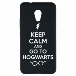 Чехол для Meizu M5s KEEP CALM and GO TO HOGWARTS - FatLine