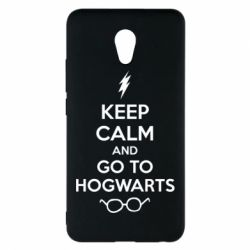 Чехол для Meizu M5 Note KEEP CALM and GO TO HOGWARTS - FatLine