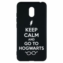 Чехол для Meizu M6 KEEP CALM and GO TO HOGWARTS - FatLine