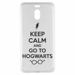 Чехол для Meizu M6 Note KEEP CALM and GO TO HOGWARTS - FatLine