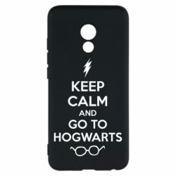 Чехол для Meizu Pro 6 KEEP CALM and GO TO HOGWARTS - FatLine