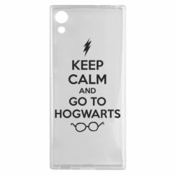 Чехол для Sony Xperia XA1 KEEP CALM and GO TO HOGWARTS - FatLine