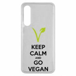 Чехол для Xiaomi Mi9 SE Keep calm and go vegan