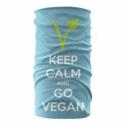 Бандана-труба Keep calm and go vegan