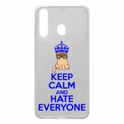 Чехол для Samsung A60 KEEP CALM and HATE EVERYONE