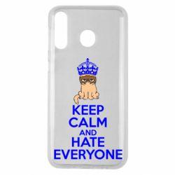 Чехол для Samsung M30 KEEP CALM and HATE EVERYONE