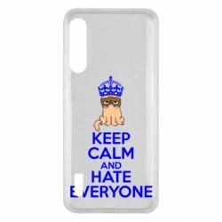 Чохол для Xiaomi Mi A3 KEEP CALM and HATE EVERYONE