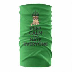 Бандана-труба KEEP CALM and HATE EVERYONE