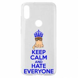 Чохол для Xiaomi Mi Play KEEP CALM and HATE EVERYONE