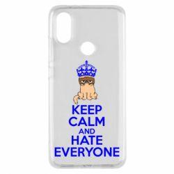 Чехол для Xiaomi Mi A2 KEEP CALM and HATE EVERYONE - FatLine