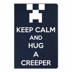 Блокнот А5 KEEP CALM and HUG A CREEPER
