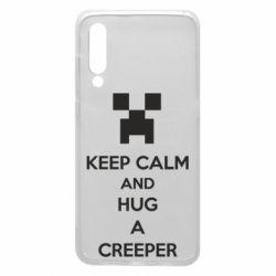Чехол для Xiaomi Mi9 KEEP CALM and HUG A CREEPER