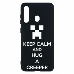 Чехол для Samsung M40 KEEP CALM and HUG A CREEPER