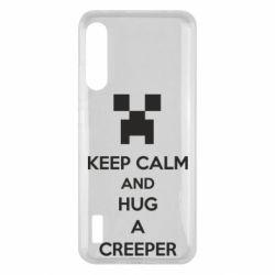 Чохол для Xiaomi Mi A3 KEEP CALM and HUG A CREEPER