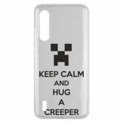 Чехол для Xiaomi Mi9 Lite KEEP CALM and HUG A CREEPER
