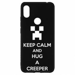 Чехол для Xiaomi Redmi S2 KEEP CALM and HUG A CREEPER