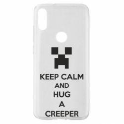 Чехол для Xiaomi Mi Play KEEP CALM and HUG A CREEPER