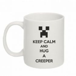 Кружка 320ml KEEP CALM and HUG A CREEPER