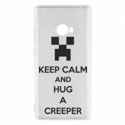 Чехол для Xiaomi Mi Note 2 KEEP CALM and HUG A CREEPER