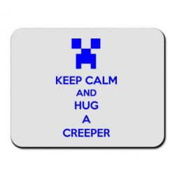 Коврик для мыши KEEP CALM and HUG A CREEPER - FatLine