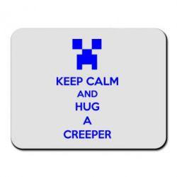 Коврик для мыши KEEP CALM and HUG A CREEPER