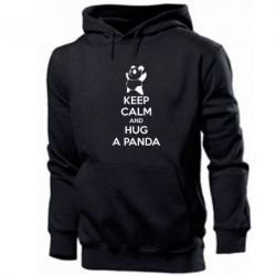 Чоловіча толстовка KEEP CALM and HUG A PANDA