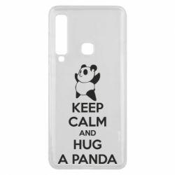 Чохол для Samsung A9 2018 KEEP CALM and HUG A PANDA