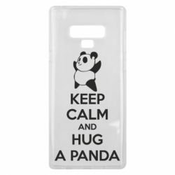 Чехол для Samsung Note 9 KEEP CALM and HUG A PANDA
