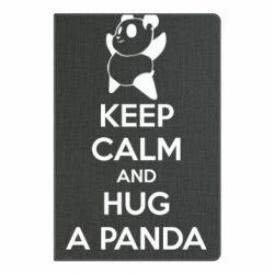 Блокнот А5 KEEP CALM and HUG A PANDA