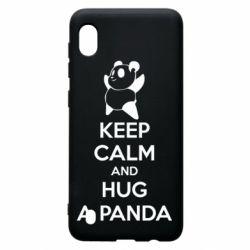 Чохол для Samsung A10 KEEP CALM and HUG A PANDA