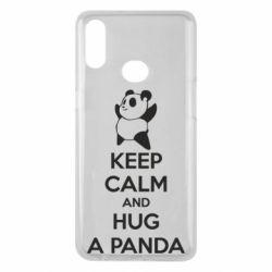 Чохол для Samsung A10s KEEP CALM and HUG A PANDA