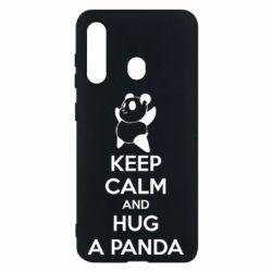 Чохол для Samsung M40 KEEP CALM and HUG A PANDA