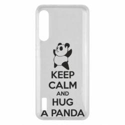 Чохол для Xiaomi Mi A3 KEEP CALM and HUG A PANDA