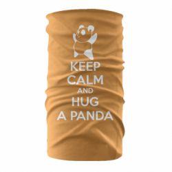 Бандана-труба KEEP CALM and HUG A PANDA