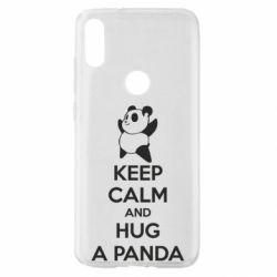 Чохол для Xiaomi Mi Play KEEP CALM and HUG A PANDA