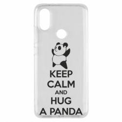 Чохол для Xiaomi Mi A2 KEEP CALM and HUG A PANDA
