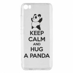Чохол для Xiaomi Mi5/Mi5 Pro KEEP CALM and HUG A PANDA