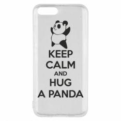 Чохол для Xiaomi Mi6 KEEP CALM and HUG A PANDA