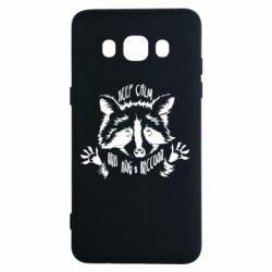 Чохол для Samsung J5 2016 Keep calm and hug a raccoon