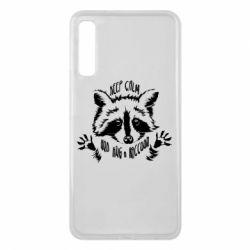 Чохол для Samsung A7 2018 Keep calm and hug a raccoon