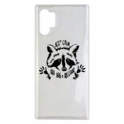 Чохол для Samsung Note 10 Plus Keep calm and hug a raccoon