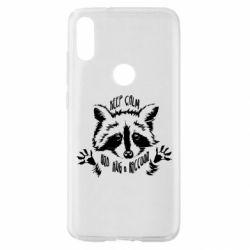 Чохол для Xiaomi Mi Play Keep calm and hug a raccoon