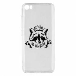 Чохол для Xiaomi Mi5/Mi5 Pro Keep calm and hug a raccoon