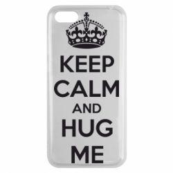 Чехол для Huawei Y5 2018 KEEP CALM and HUG ME - FatLine