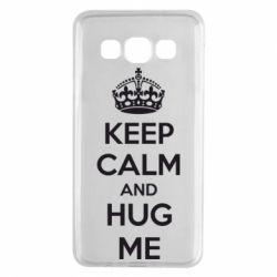 Чохол для Samsung A3 2015 KEEP CALM and HUG ME