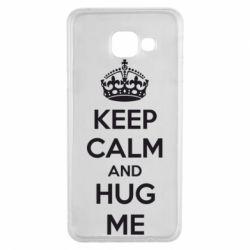 Чохол для Samsung A3 2016 KEEP CALM and HUG ME