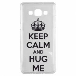 Чохол для Samsung A5 2015 KEEP CALM and HUG ME